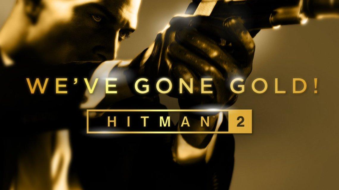 HITMAN 2 se vuelve 'Gold' y ya ha concluido su desarrollo