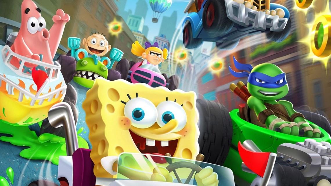 Nickelodeon Kart Racers finaliza su desarrollo y ya es 'Gold'. A la venta el 26 de octubre