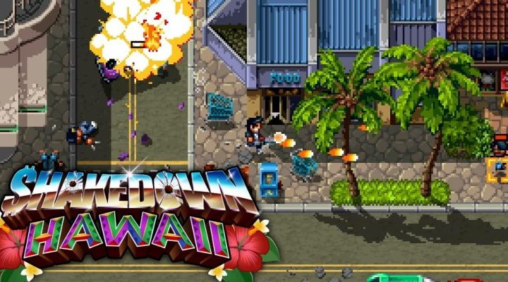 Shakedown Hawaii ya se encuentra disponible en PS4, PS Vita, PC y Switch