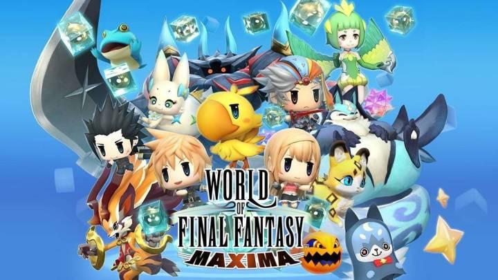 TGS 2018   Nuevo trailer de World of Final Fantasy Maxima