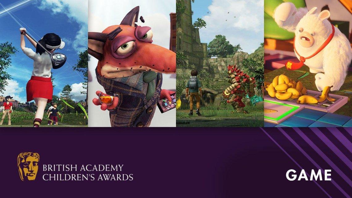 Knack 2, Everybody's Golf y Frantics, entre los nominados a los premios BAFTA