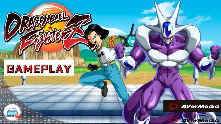 RegiónTV | Dragon Ball FighterZ | Gameplay Androide 17 y Cooler