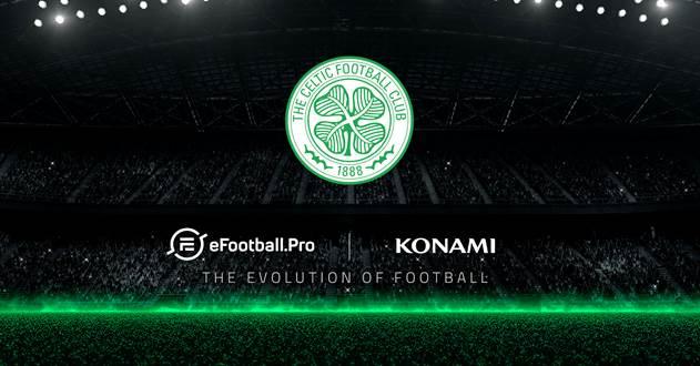Konami anuncia la incorporación del Celtic FC a la competición eSport de eFootball.Pro