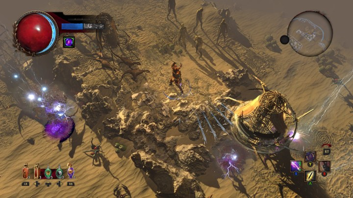 Path of Exile, el free-to-play de Grinding Gear Games, aparece listado para PlayStation 4