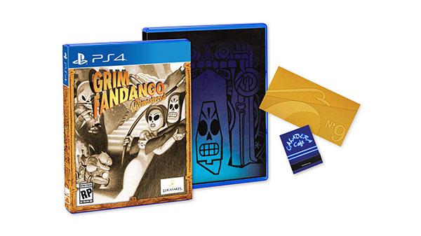 Anunciada una edición física de Grim Fandango Remastered para PlayStation 4