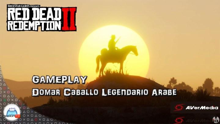 Así se doma una criatura legendaria en Red Dead Redemption II