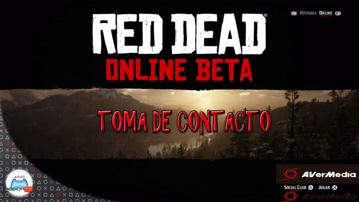 Toma de contacto | Red Dead Online (BETA)