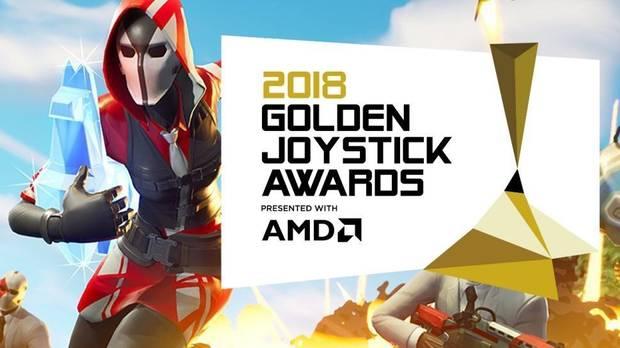 Fortnite y God of War son los grandes triunfadores de los Golden Joystick Awards 2018
