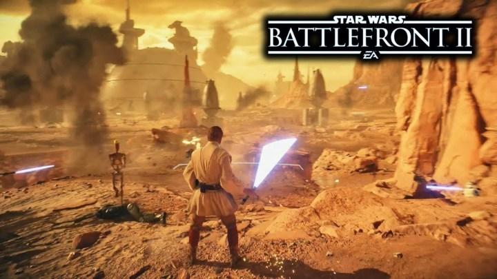 Star Wars: Battlefront 2 | Primera gameplay de Geonosis y Obi-Wan Kenobi