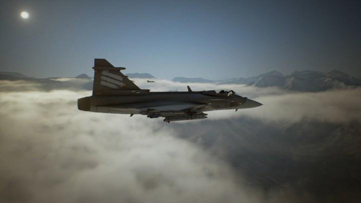 El avión Gripen E sse exhibe en el último tráiler de Ace Combat 7: Skies Unknown