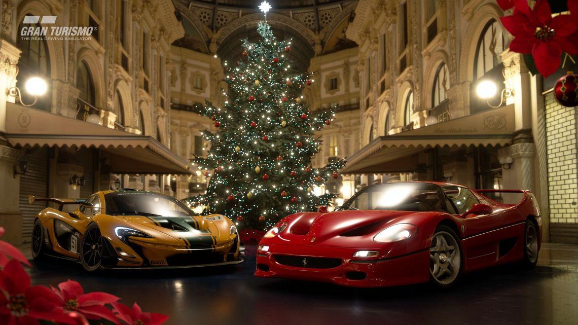 La actualización más navideña de Gran Turismo Sport llega cargada de novedades