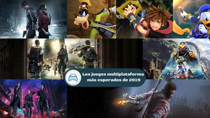 Especial | Los juegos multiplataforma más esperados de 2019