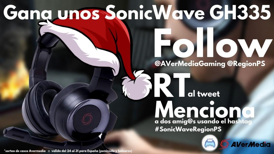 ¡Sorteamos unos auriculares SonicWave GH335!