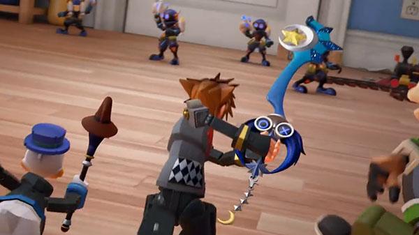 Kingdom Hearts III nos presenta las diferentes Llaves Espada disponibles con la reserva del juego en nuevos tráilers