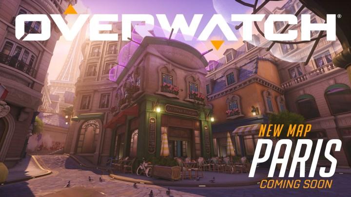 El mapa de Paris ya está disponible en los servidores de prueba de Overwatch