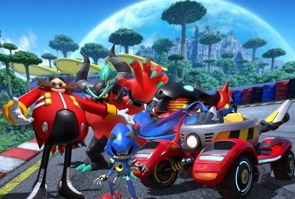 Team Sonic Racing confirma a Eggman, Metal Sonic y Zavok como personajes jugables
