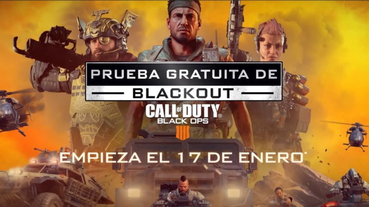 Blackout, el Battle Royale de Call of Duty: Black Ops 4, gratuito del 17 al 24 de enero
