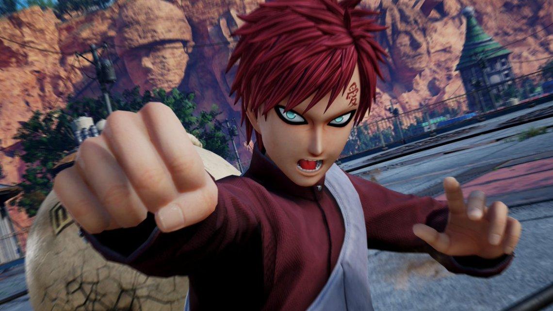 Gaara destroza a Kaguya en el nuevo gameplay de Jump Force
