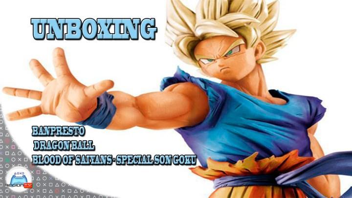 RegiónTV | Unboxing | Blood of Saiyans Special Goku Super Saiyan