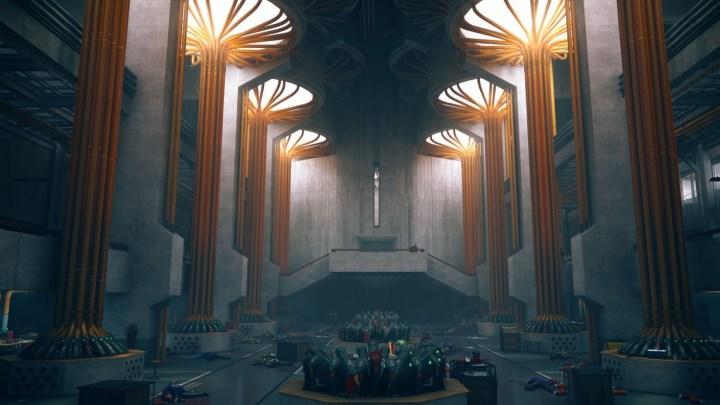Remedy presenta nuevas imágenes de la arquitectura e iluminación de Control