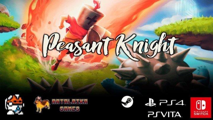 Un héroe emerge ya que Peasant Knight llega a Nintendo Switch, PS4 y PSVita esta semana