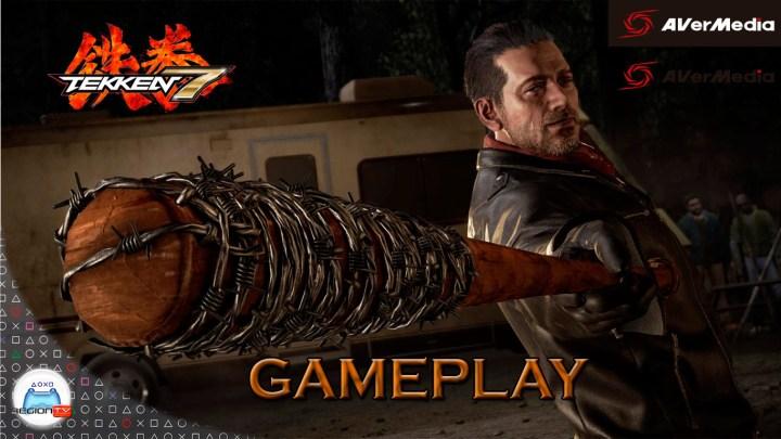 Gameplay | Tekken 7 | Probando a Negan