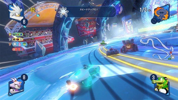 Tráiler de lanzamiento de Team Sonic Racing