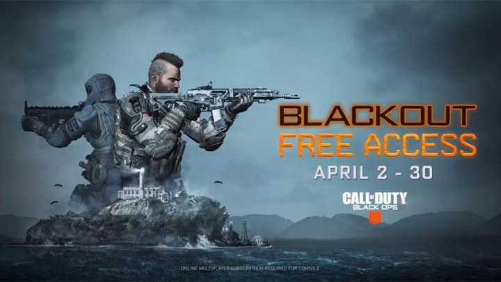 Blackout, el battle royale de Black Ops 4, se podrá jugar gratis del 2 al 30 de abril