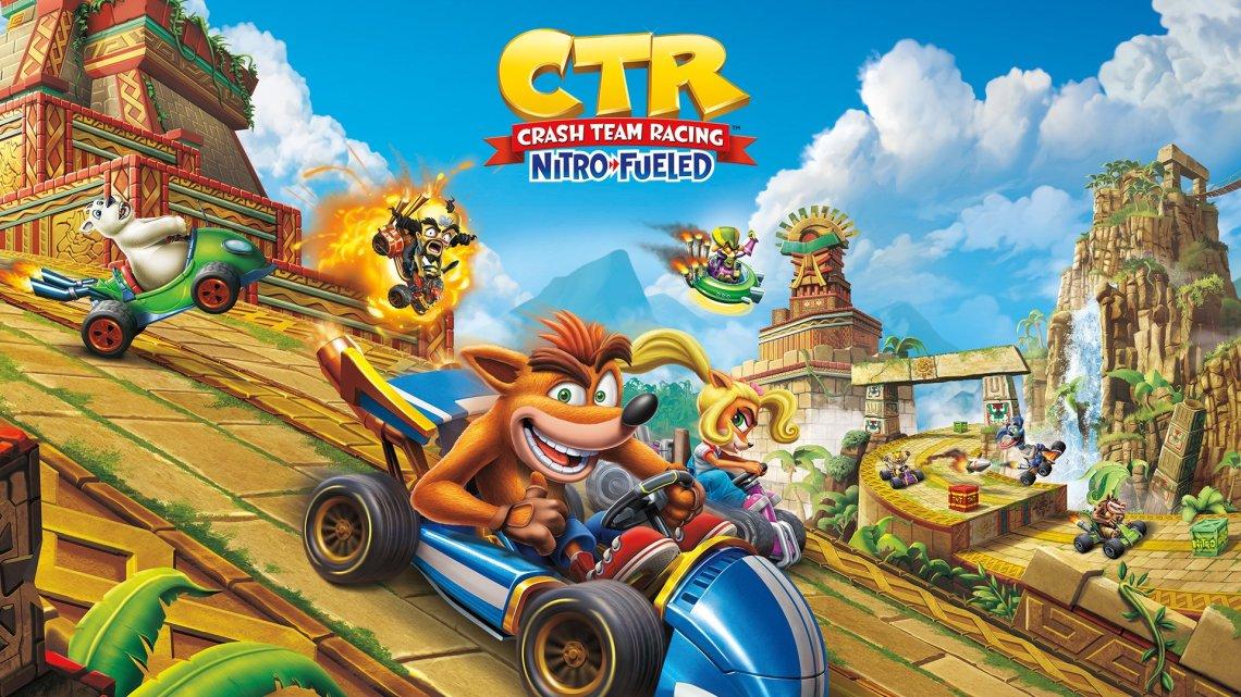 Filtrada una versión de Crash Team Racing Nitro-Fueled para PlayStation 5