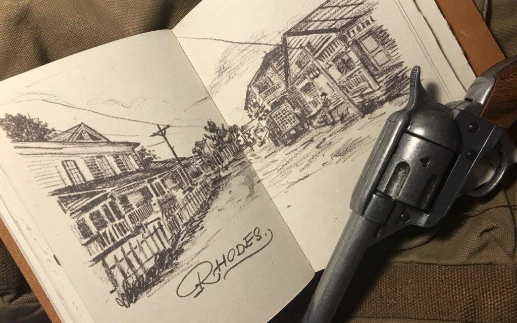 Un artista recrea el diario de Arthur de Red Dead Redemption 2