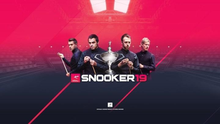 Snooker 19 llega a PlayStation 4 el 17 de abril