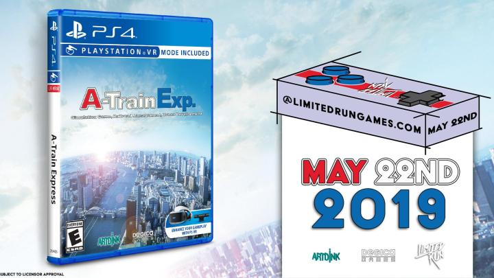 Anunciado A-Train Express para PlayStation 4