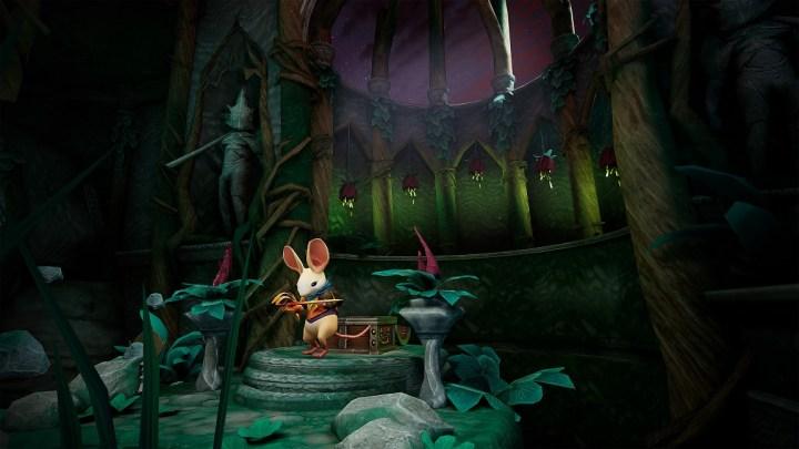 Ya disponible 'Twilight Garden', un nuevo capítulo gratuito de Moss para PlayStation VR