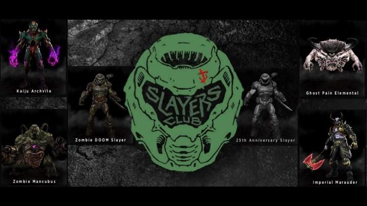 Anunciado DOOMS Slayer Club, club de membresía gratuita para todos los fans de la franquicia