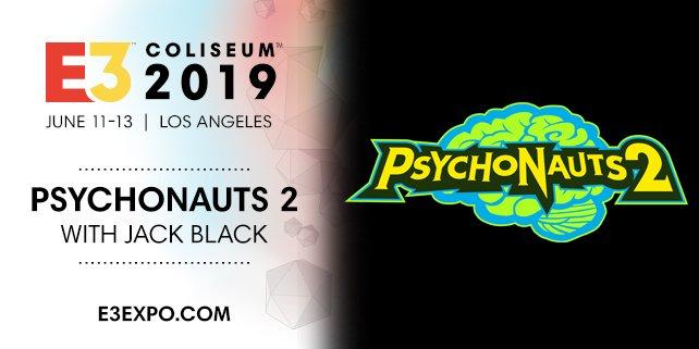 Psychonauts 2 tendrá presencia en el E3 2019 con Jack Black y Tim Schafer