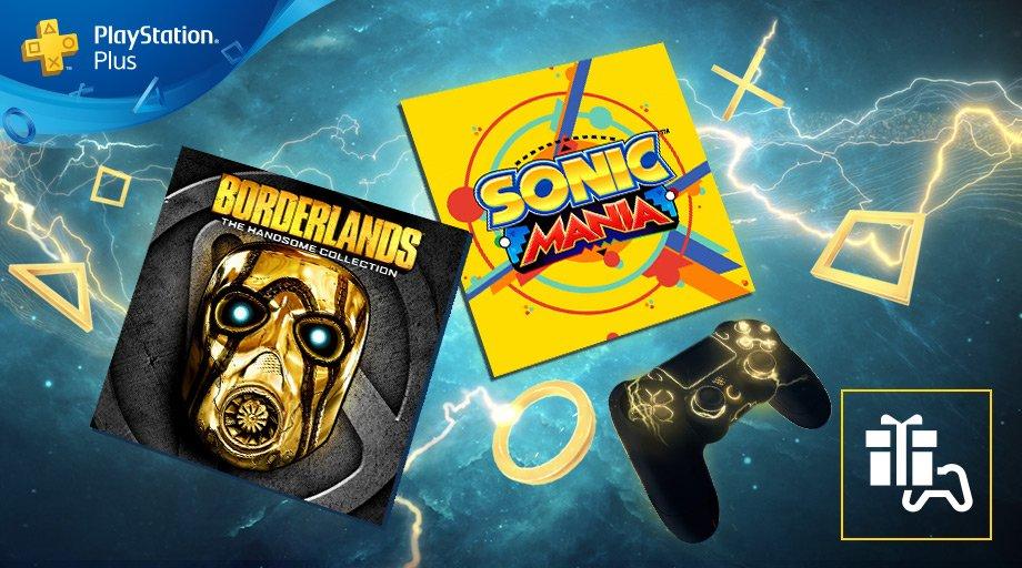 Borderlands: Una Colección Muy Guapa y Sonic Mania, juegos gratuitos de PS Plus en junio