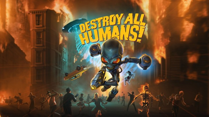 Destroy All Humans! celebra el Día de la Independencia con un fantástico tráiler
