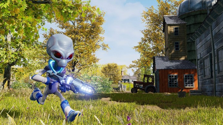 El remake de Destroy All Humans! muestra en tráiler la 'Granja de Turnipseed'