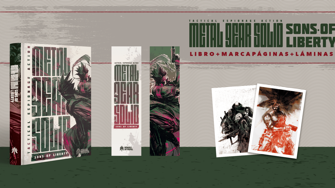 Ya a la venta Metal Gear Solid: Sons of Liberty