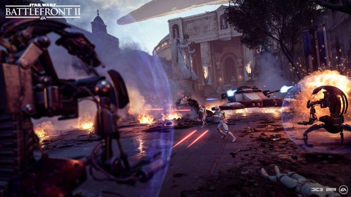 Star Wars: Battlefront 2 | Ya disponible la nueva actualización de contenido, droidekas, nuevas skins, Naboo en Supremacía Capital y mucho más