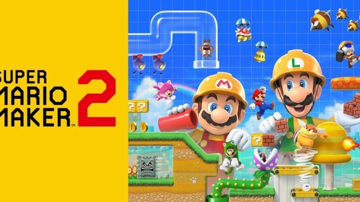 Super Mario Maker 2 recipte como el juego más vendido en España durante el mes de julio