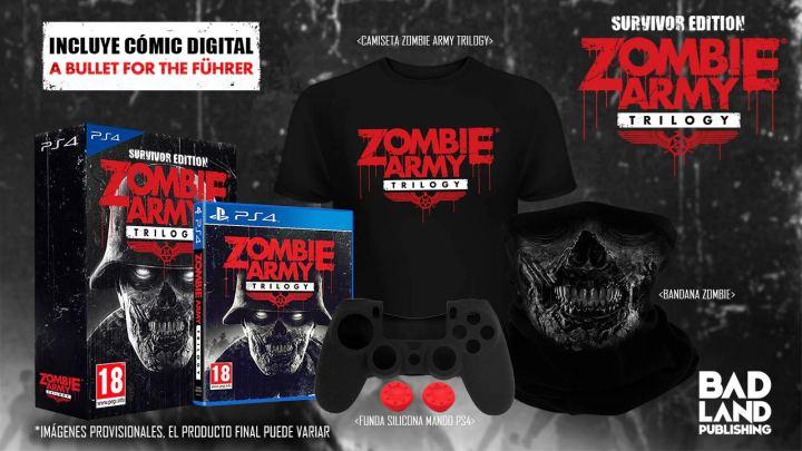 BadLand Publishing lanza la fantástica 'Survivor Edition' de Zombie Army Trilogy para PlayStation 4