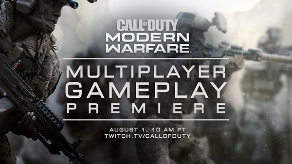 Call of Duty: Modern Warfare | Activision confirma que el próximo mes de agosto mostrarán más materiales sobre el modo multijugador