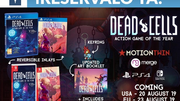 GAME anuncia los extras por reservar Dead Cells – Action Game of the Year para PS4 y Switch