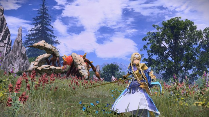 Primer gameplay oficial de Sword art Online: Alicization Lycoris