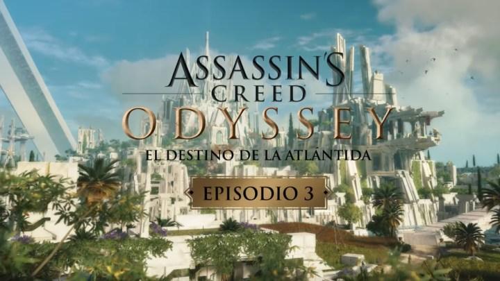 """Assassin's Creed Odyssey   Tráiler de lanzamiento del último episodio de """"El Destino de la Atlántida"""""""
