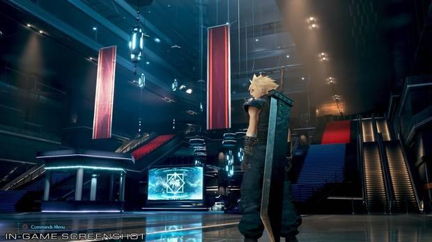 Final Fantasy VII Remake   Square Enix comparte nuevas capturas sobre el interior de Shinra