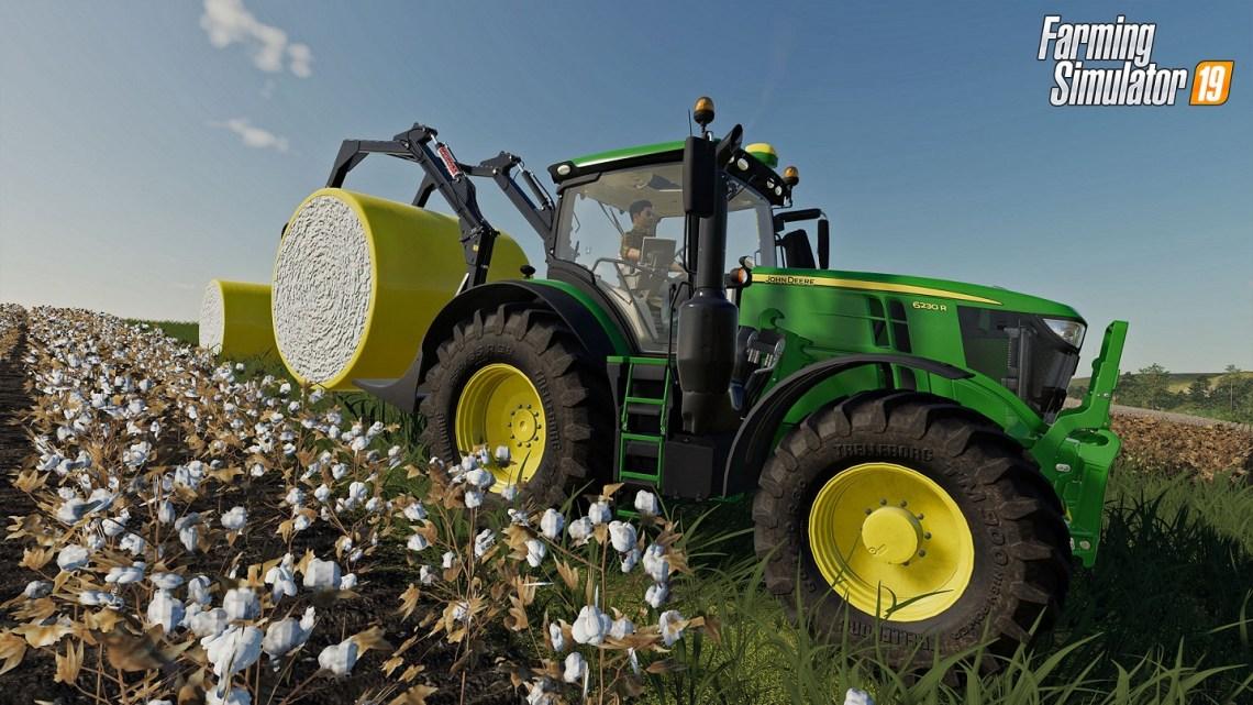 Anunciado el contenido John Deere Cotton para Farming Simulator 19