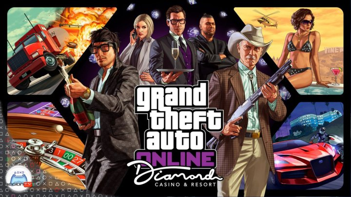 Gameplay | GTA V Online: The Diamond Casino & Resort