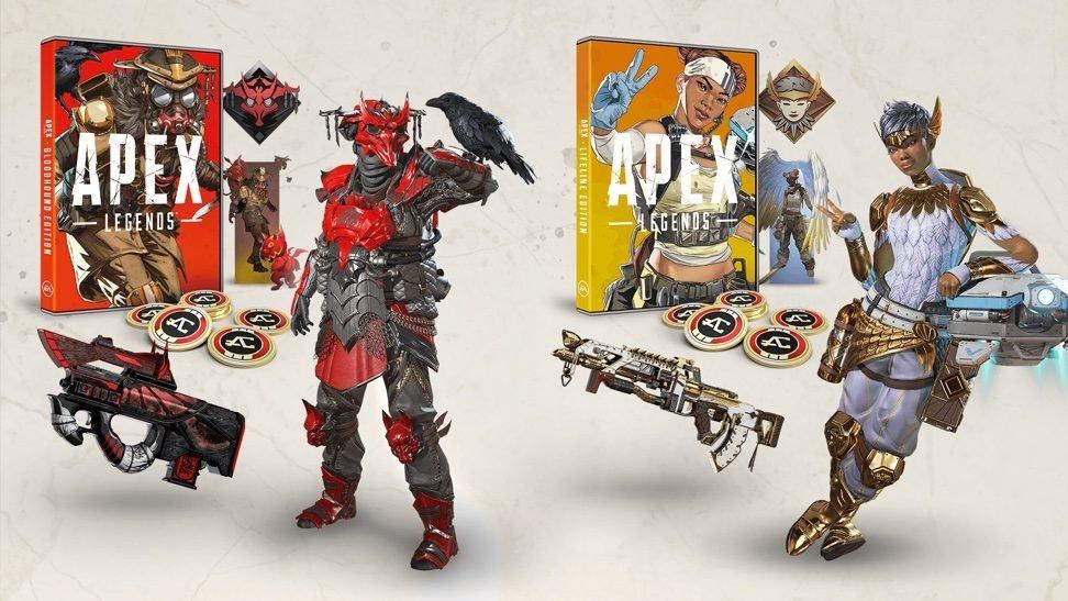 EA anuncia el lanzamiento de dos ediciones especiales de Apex Legends en formato físico
